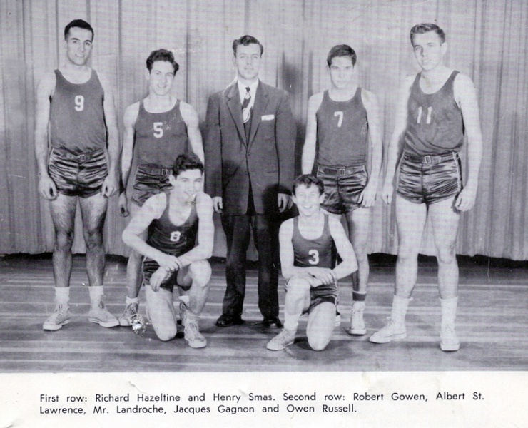 Basketball, 1950s NHS team.jpg
