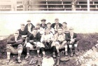 Baseball. 1919 Mill team