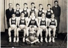Basketball.  High School team, 1939