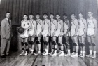 Basketball. High School team, 1950s