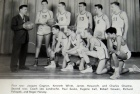 Basketball. High School team  1955-1956