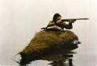 Hunting, Duck, Peter Whitham hunting from skullboat.jpg