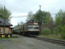 Amtrak train 684, Downeater, south boud at Rockingham Junction.JPG